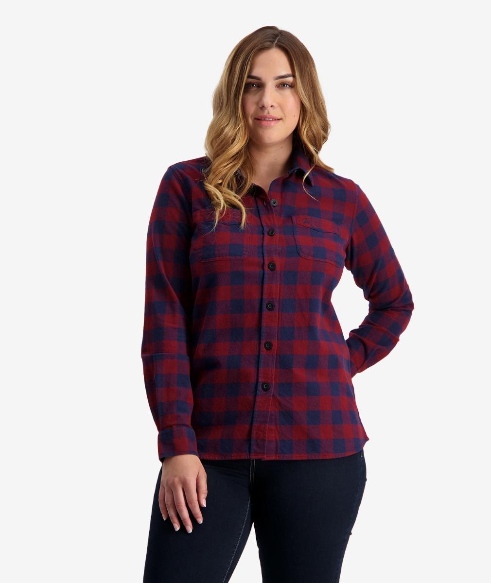 Women's Taranaki Tailor Long Sleeve Cotton Work Shirt
