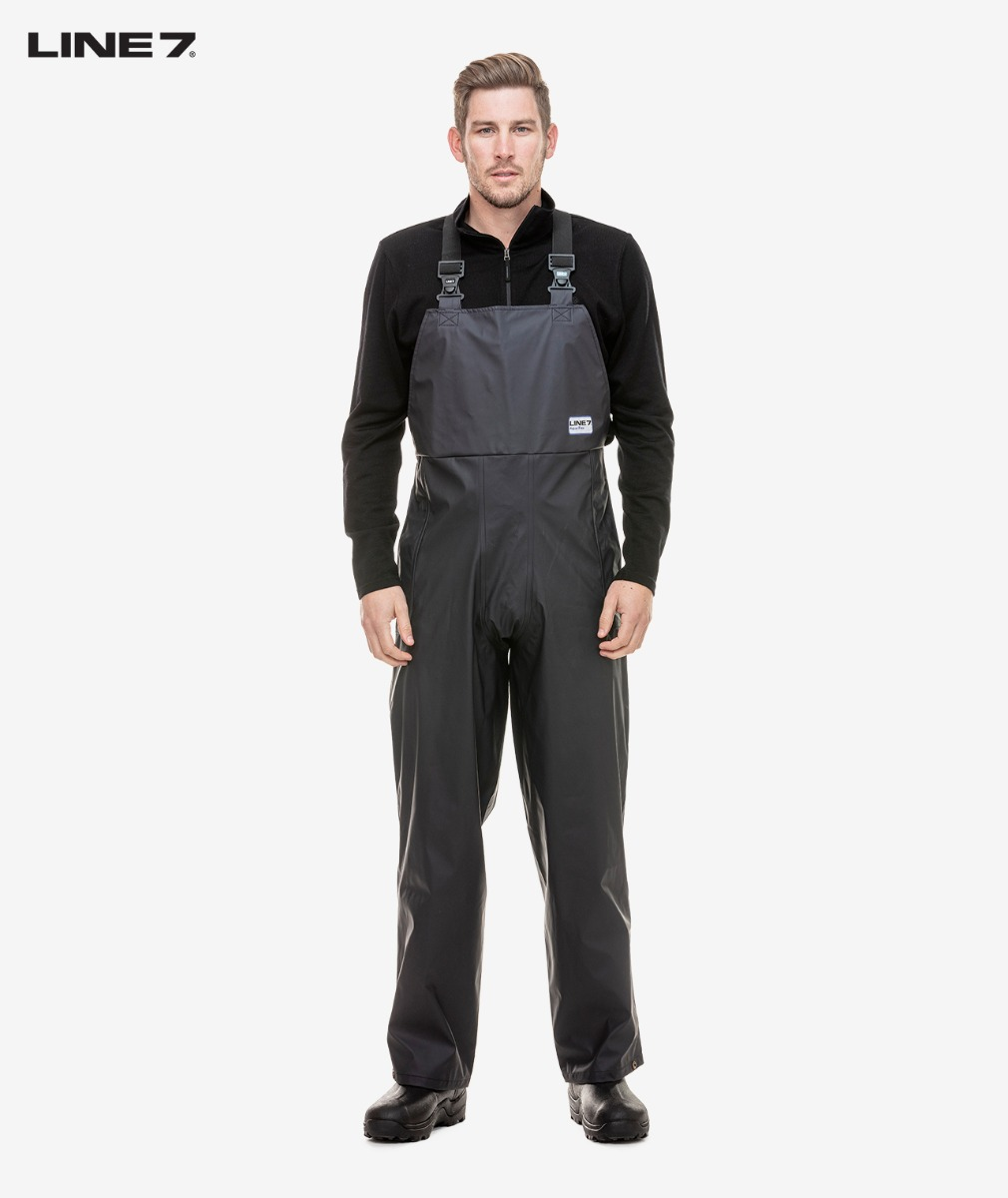 Line 7 Men's Aqua Flex Bib Waterproof Trouser