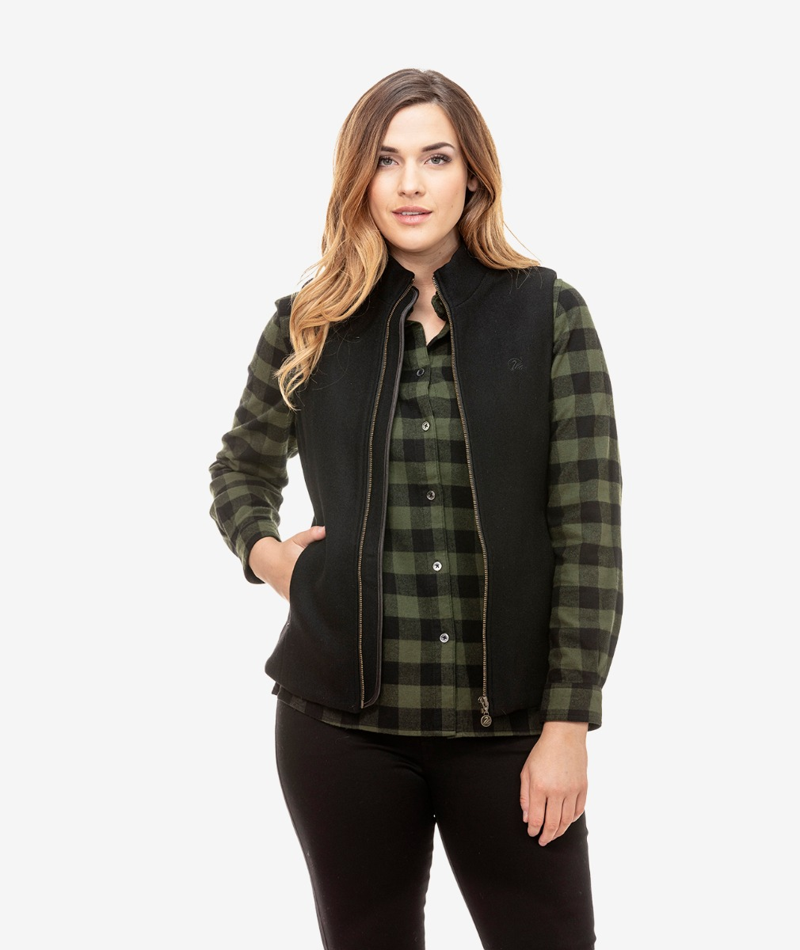 Swanndri Women's Overpass Wool Vest