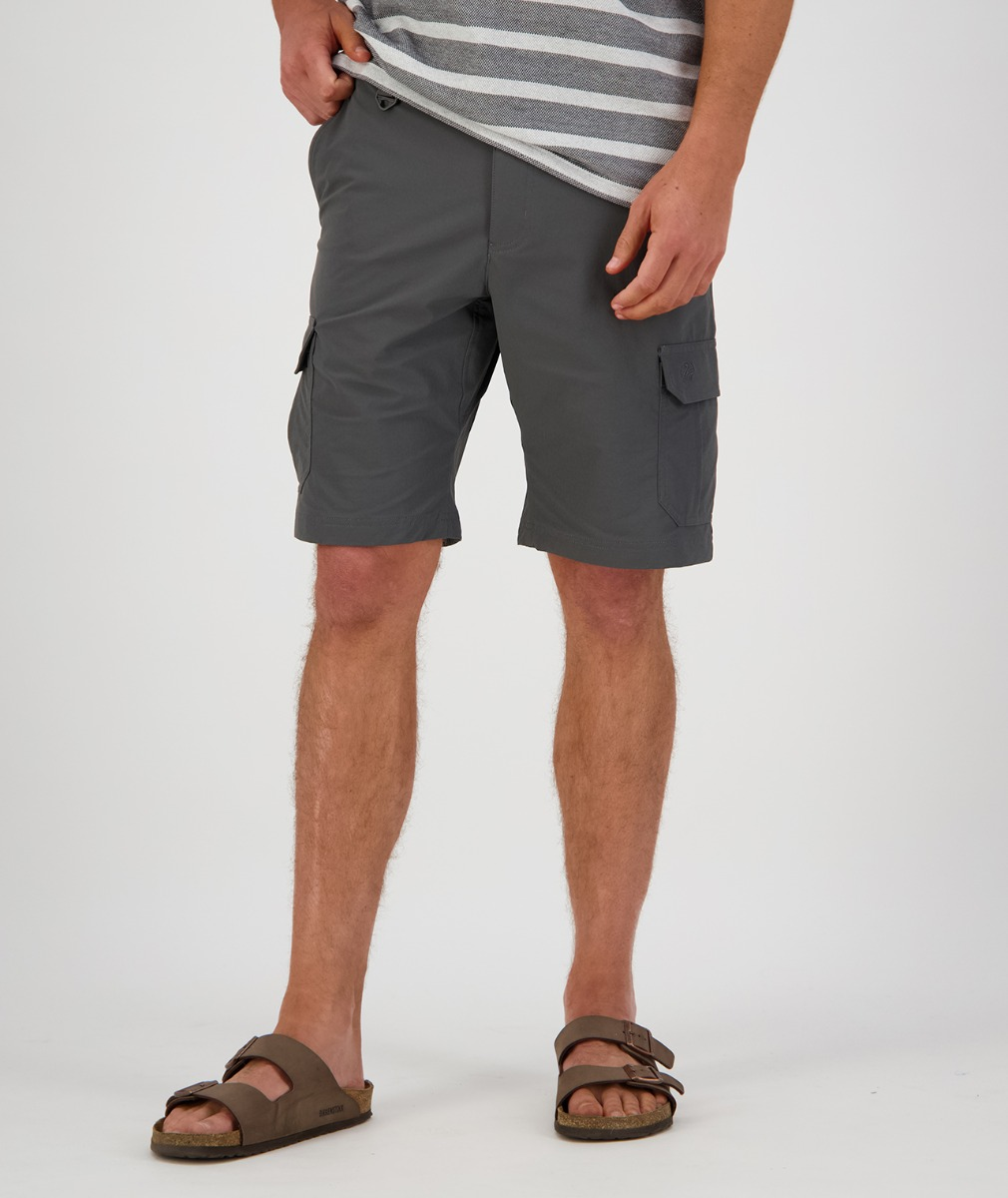 Swanndri Men's Dobson v2 Shorts in Dark Grey