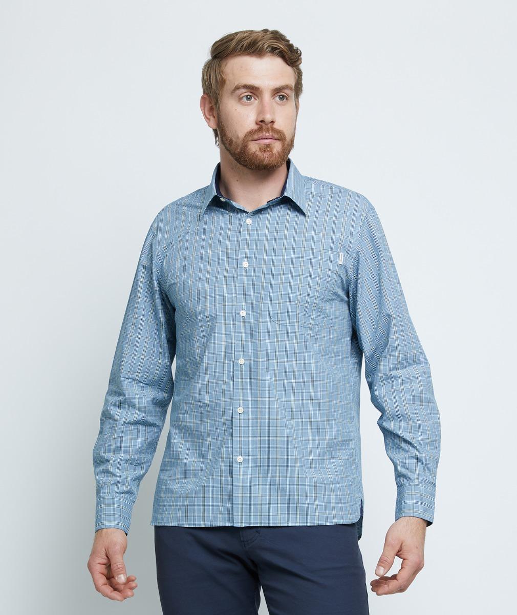Swanndri Men's Eddison Cotton Long Sleeve Shirt