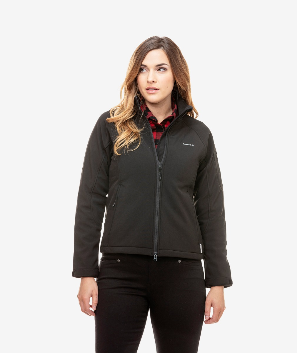 Swanndri Women's Ashbury Softshell Jacket with Fleece Lining