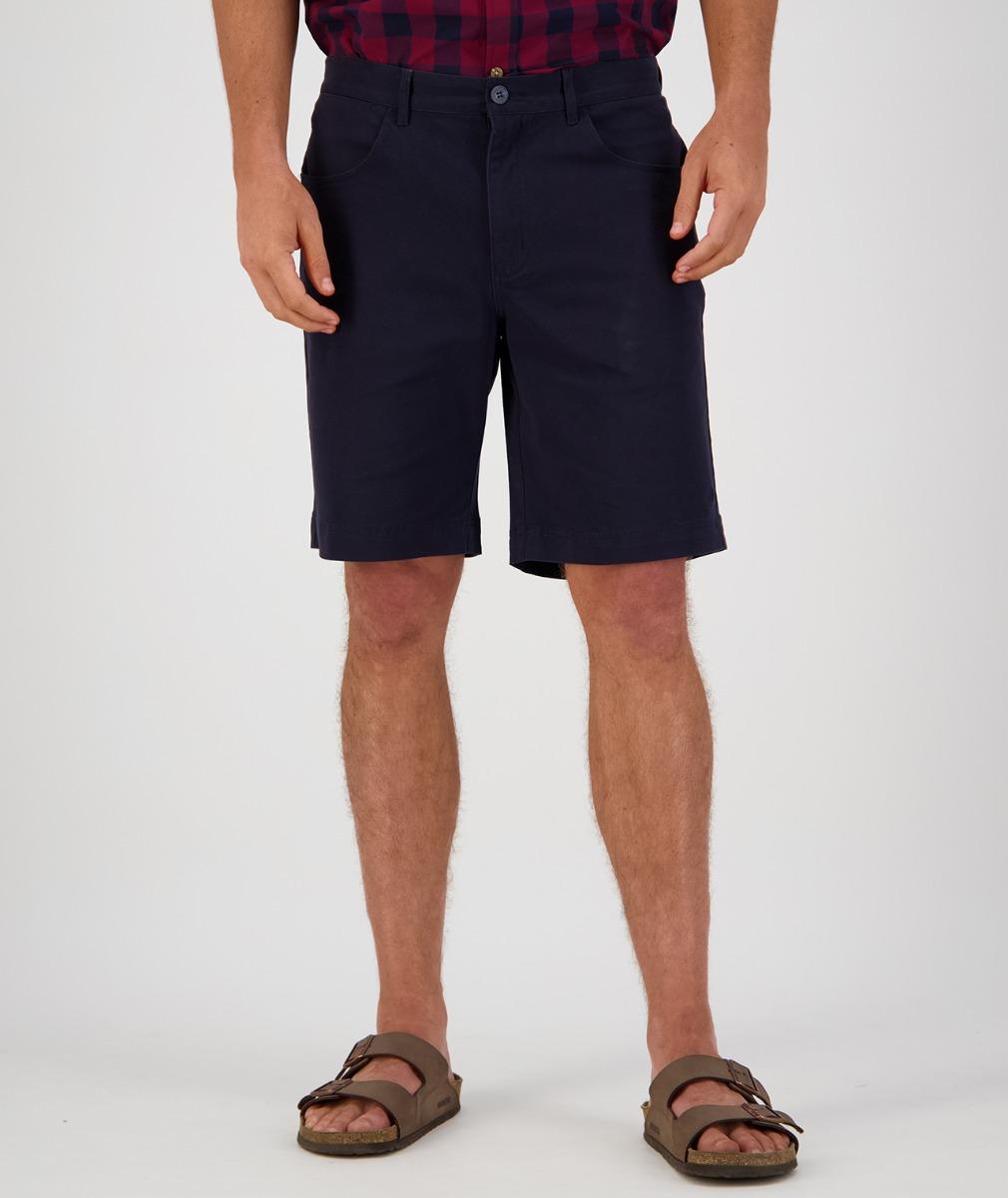 Swanndri Men's Collingwood Stretch Shorts in Dark Navy