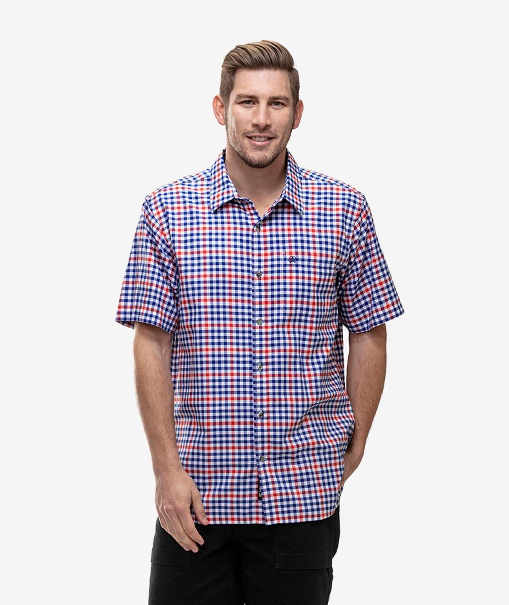 Swanndri Men's Prairie Cotton Short Sleeve Shirt