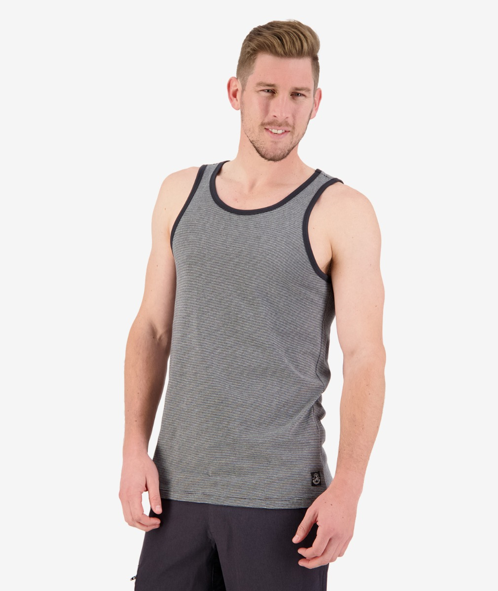 Swanndri Men's Hermosa Stripe Singlet