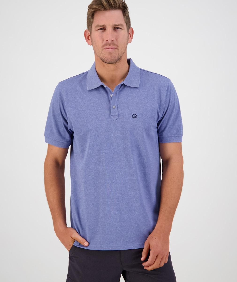 Swanndri Men's Augusta Polo in Blue