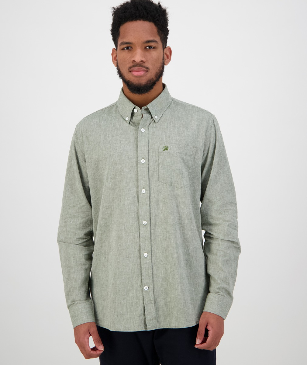 Swanndri Men's Wolcott Shirt in Sage