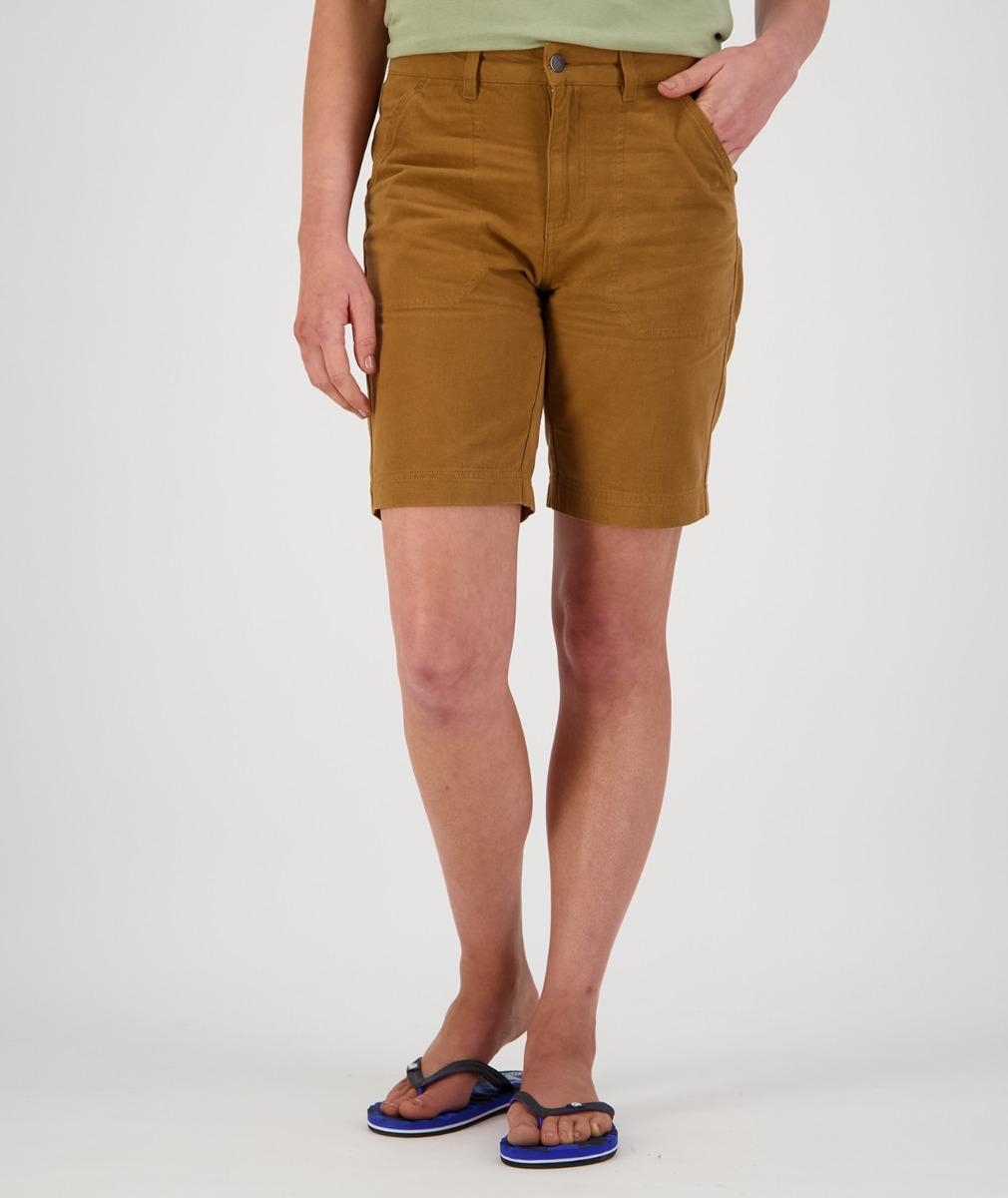 Swanndri Women's Monterey Work Shorts in Brown