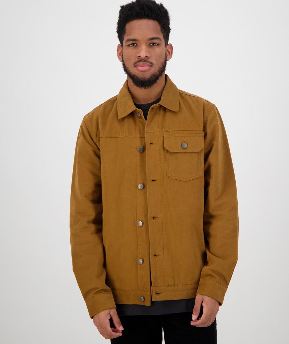 Swanndri Men's Fox River Trucker Jacket in Brown