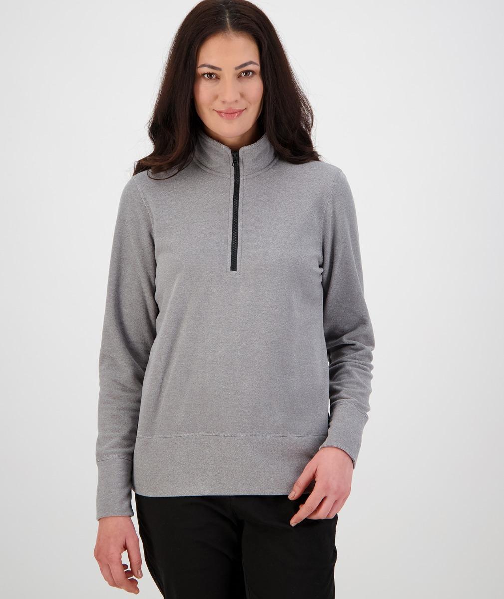 Swanndri Women's Stanton Fleece in Light Grey