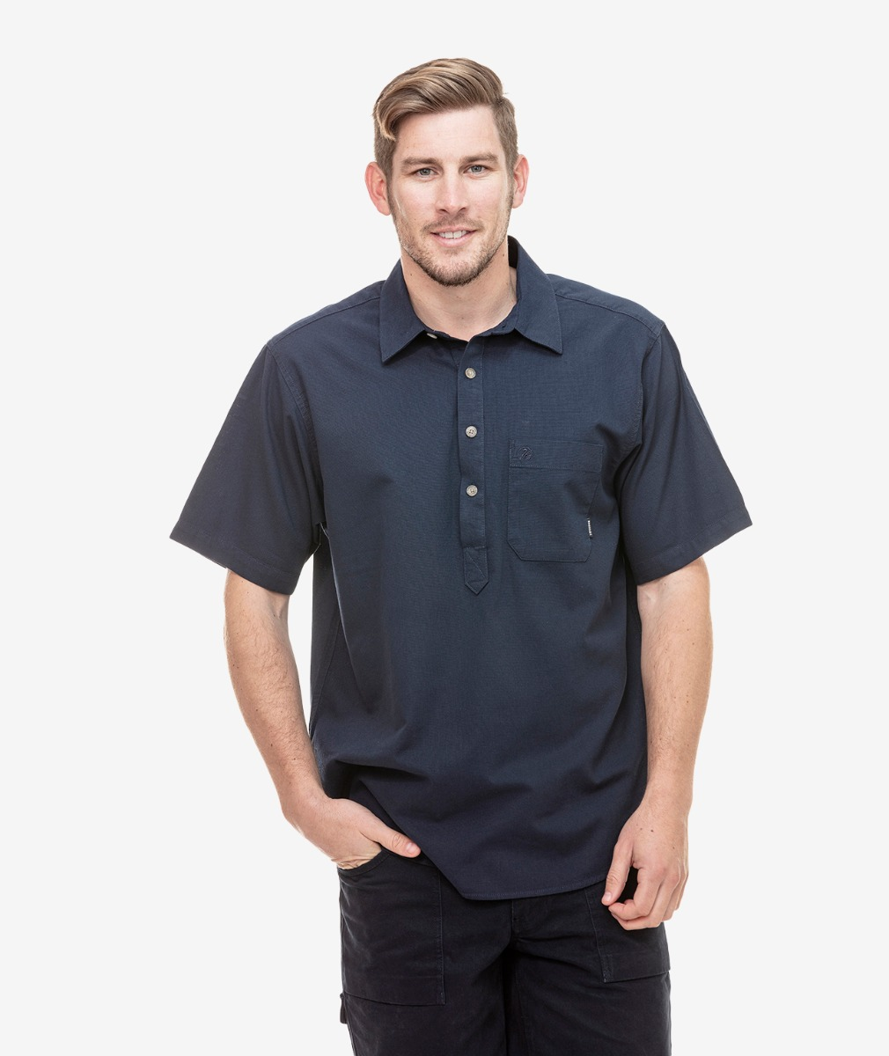 Swanndri Men's Paihia 100% Cotton Short Sleeve Shirt