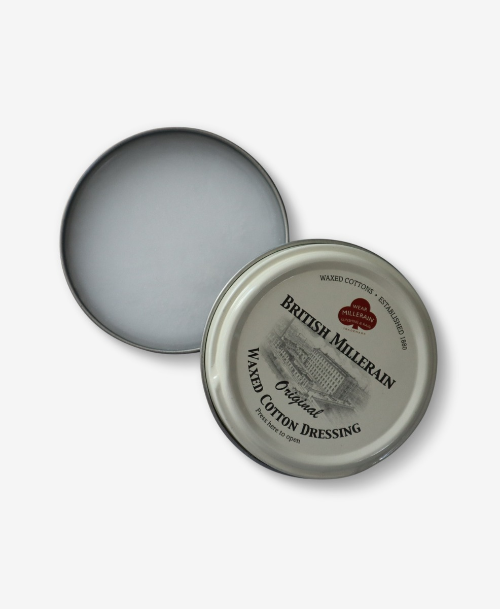 Swanndri Wax Tin for Re-proofing Oilskin Vests and Jackets