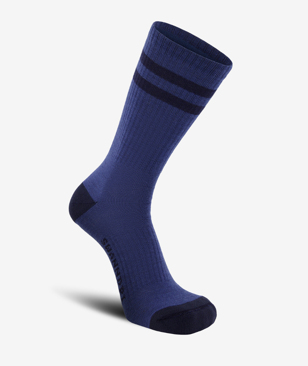 Swanndri Colombo Merino Blend Socks in Blue