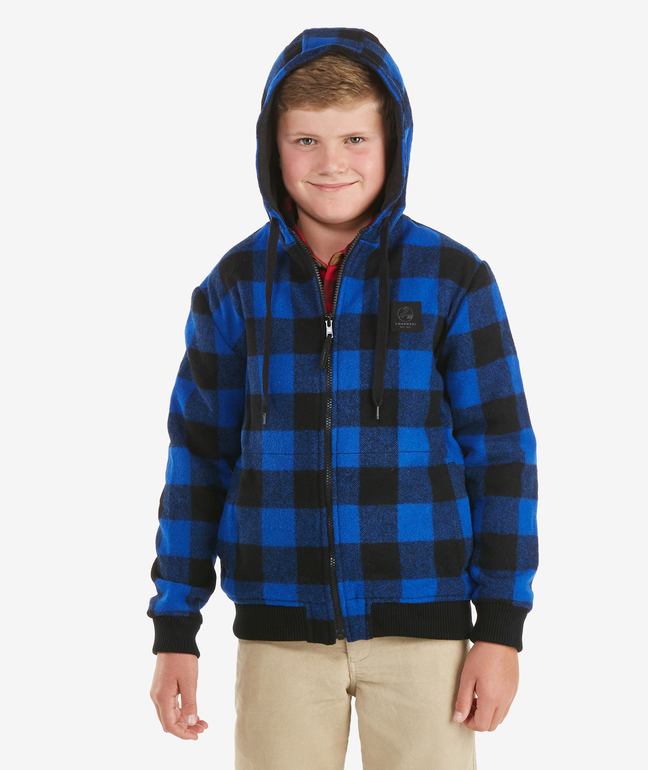 Swanndri Kid's Crooked River Wool Hoody