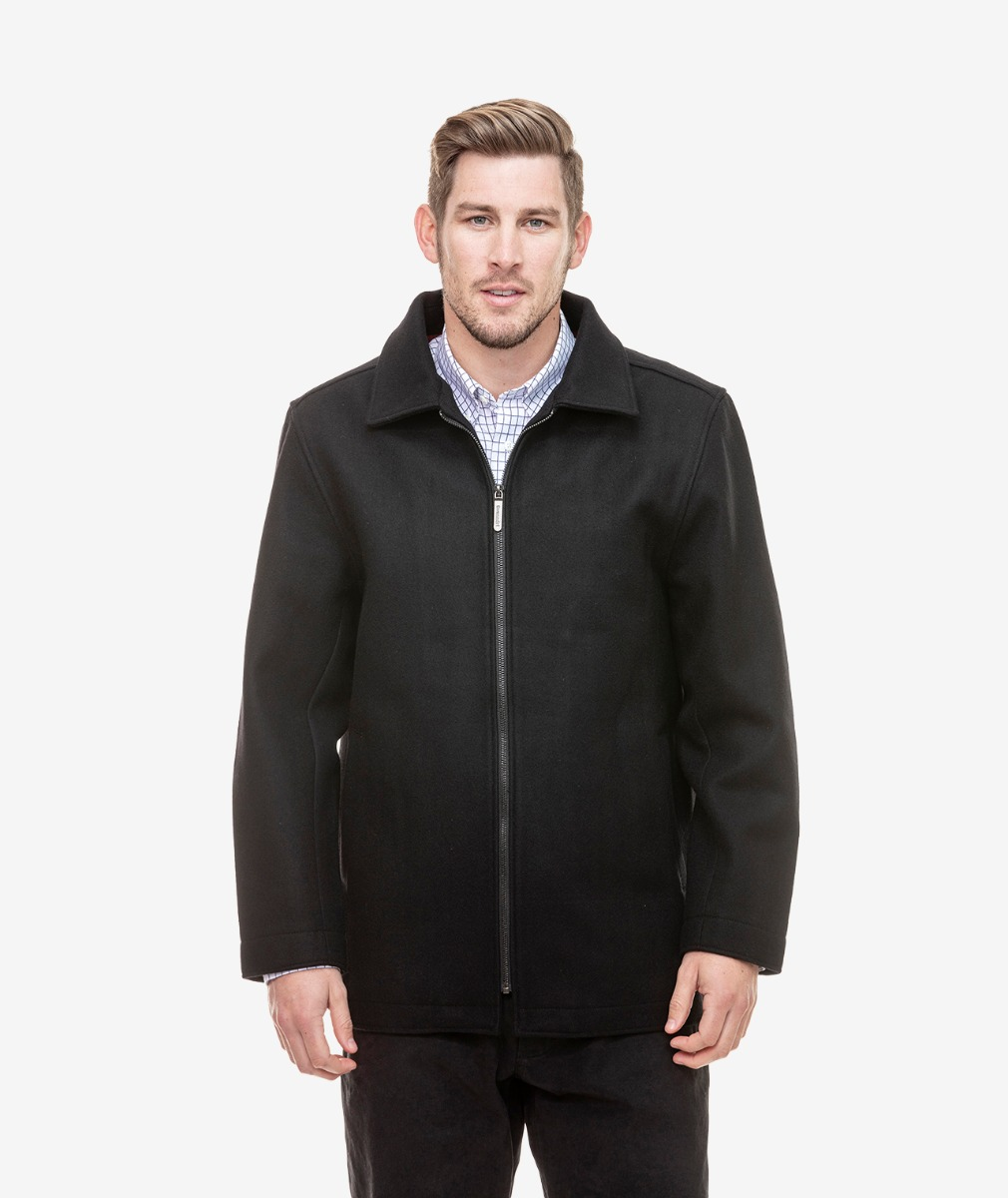 Swanndri Men's Kaka Wool Jacket with Satin Lining