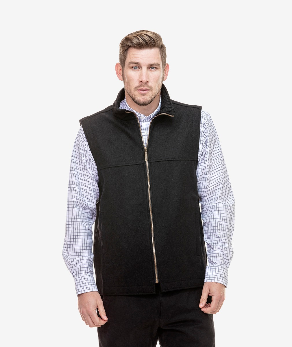 Swanndri Men's Saddleback Wool Vest