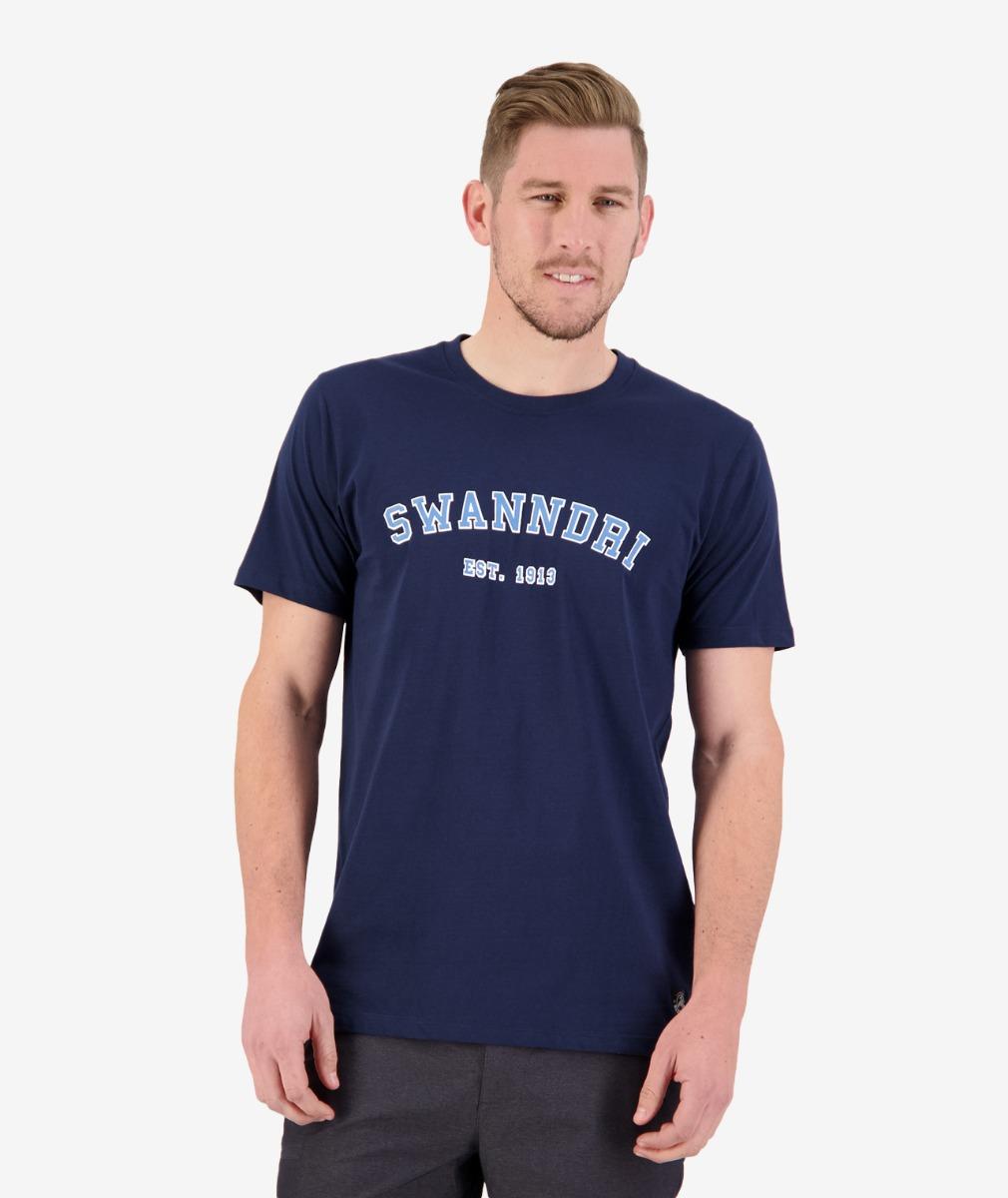 Swanndri Men's Collegiate Printed Tee