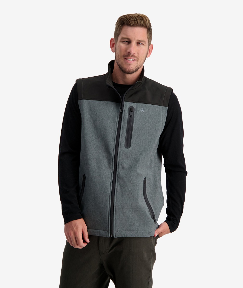 Swanndri Men's Adventurer Softshell Vest