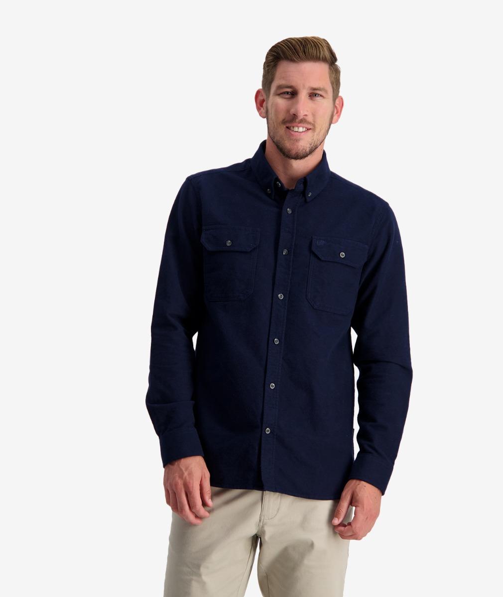 Swanndri Men's Rafters Road Long Sleeve Work Shirt
