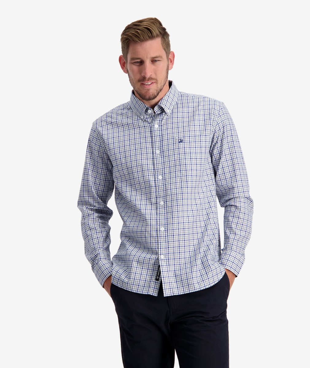Swanndri Men's Pembroke 100% Cotton Shirt