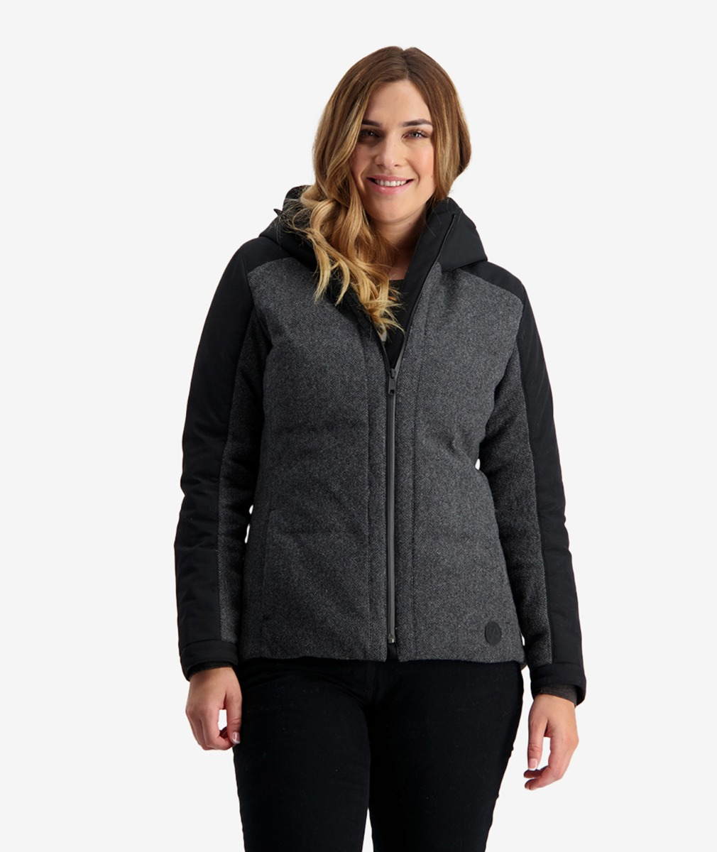 Swanndri Women's Dobson Hybrid Wool Insultated Jacket