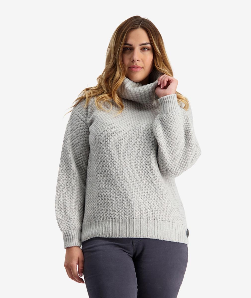 Swanndri Women's Lilley Waffle Roll Neck Sweater