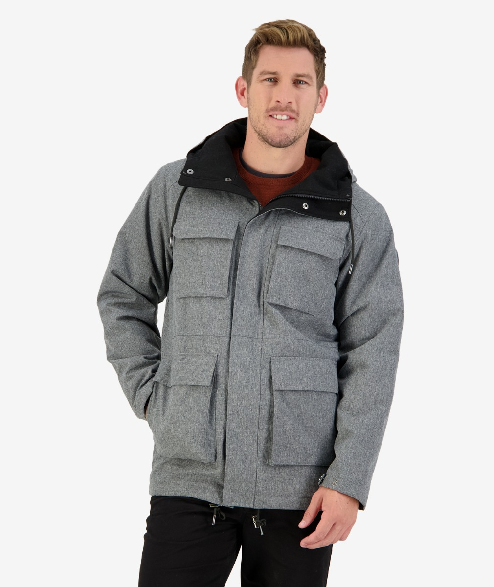 Swanndri Men's Carisbrook insulated Jacket grey