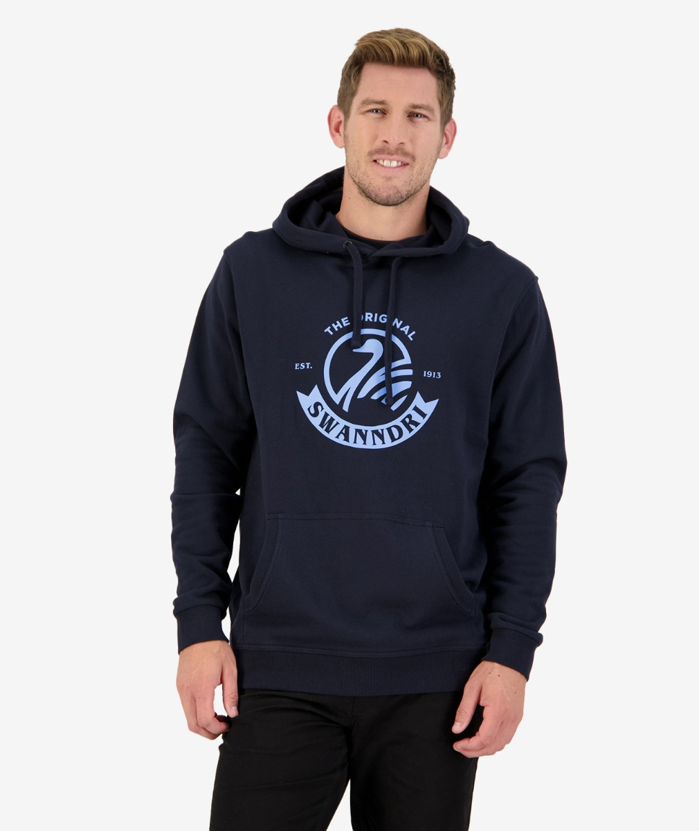 Original Fleece Hoody in Navy/Blue
