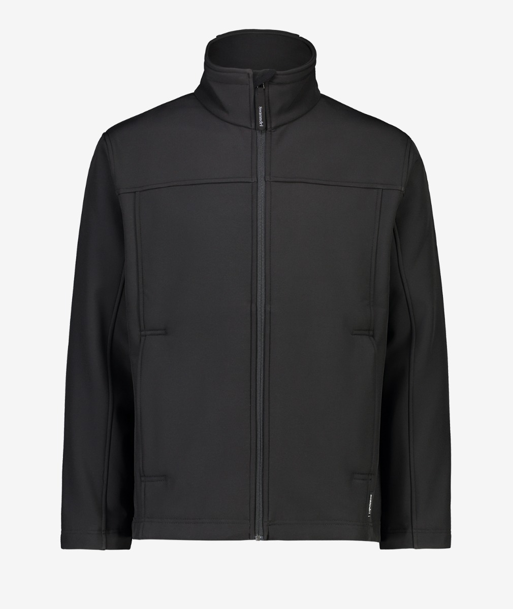 Swanndri Men's Benson Softshell Jacket in Black