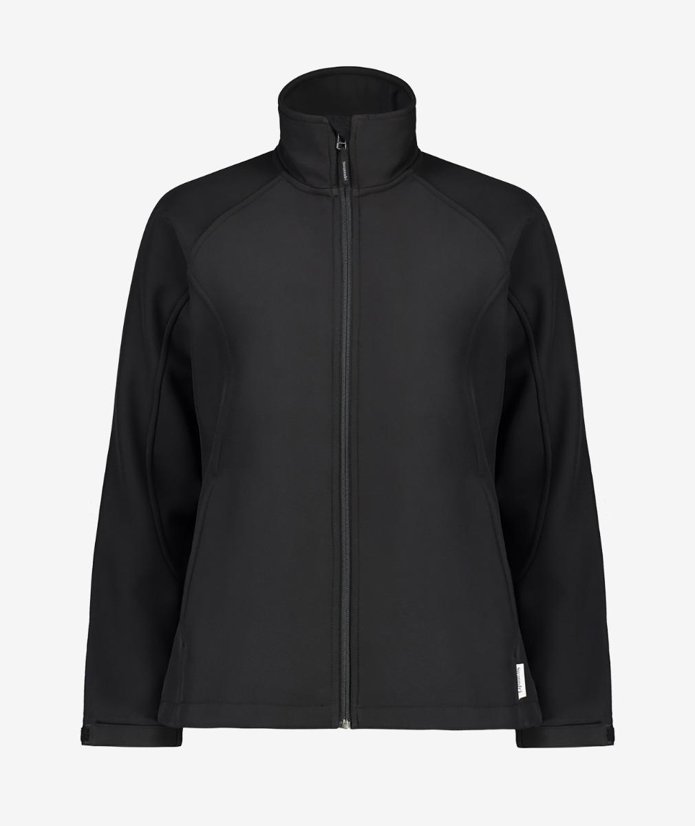 Swanndri Women's Cosby Softshell Jacket in Black