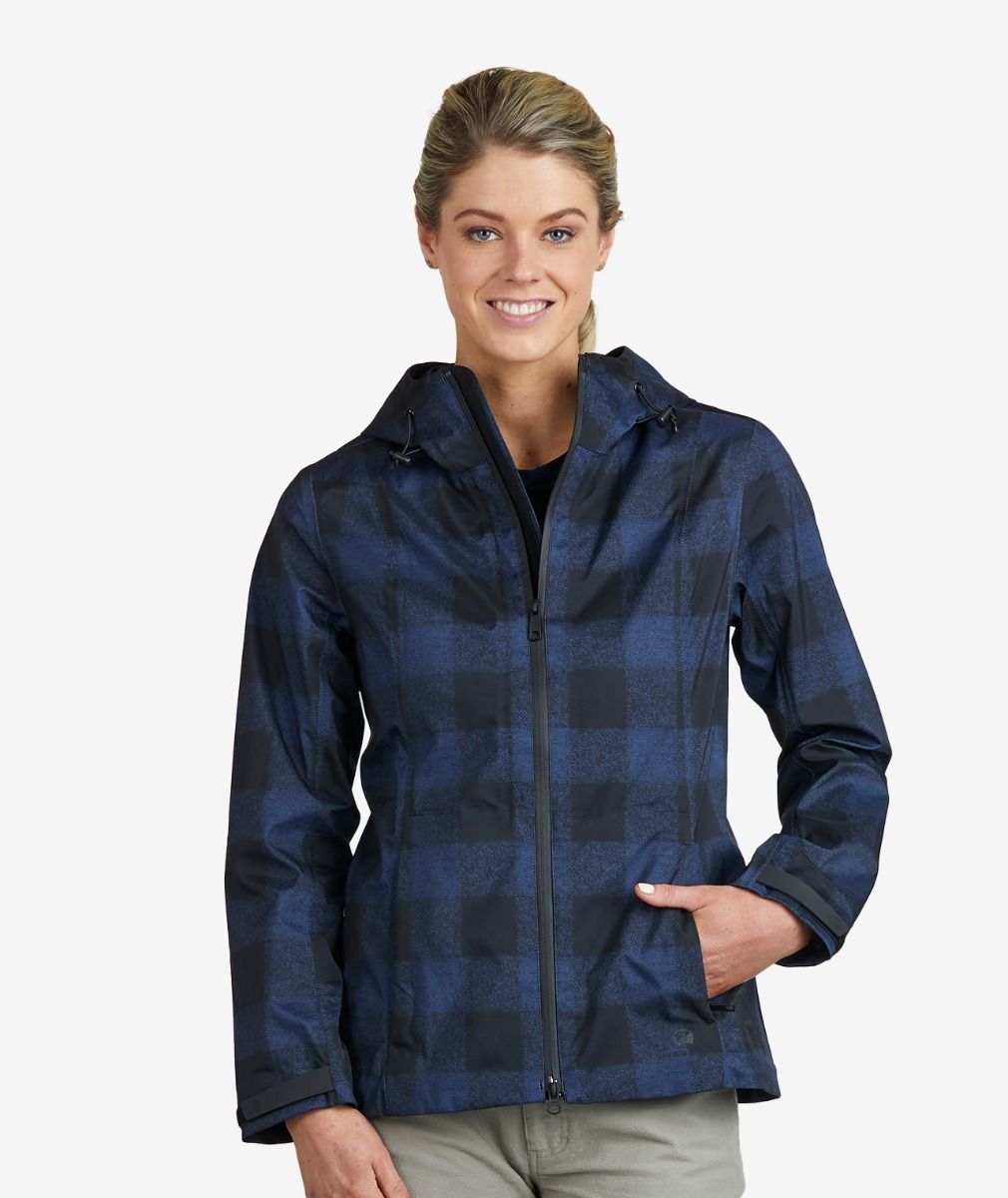 Swanndri Women's Heritage Lyall 3 Layer Lightweight Stretch Rain Jacket