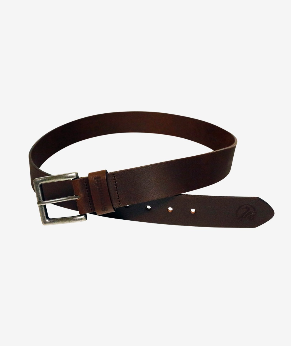 Swanndri Leather 40mm Jeans Belt