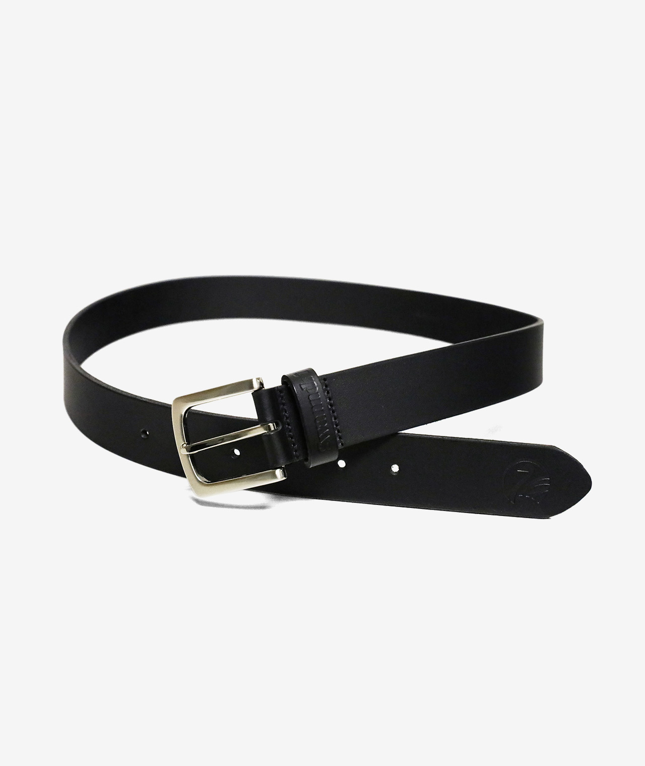 Swanndri Men's Black Leather Jean Belt - 35mm Wide