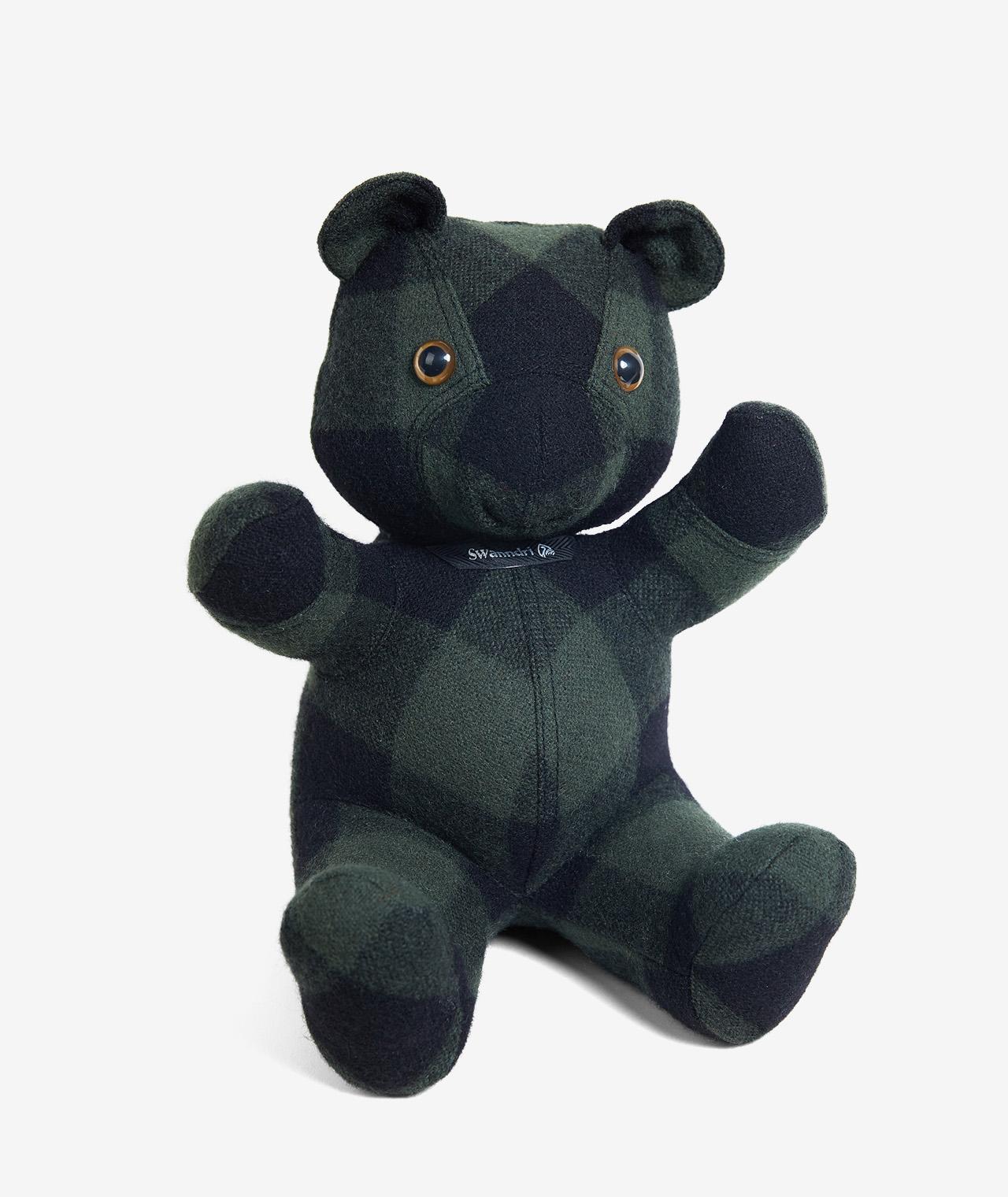 Swanndri WillBroome Wool Teddy Bear