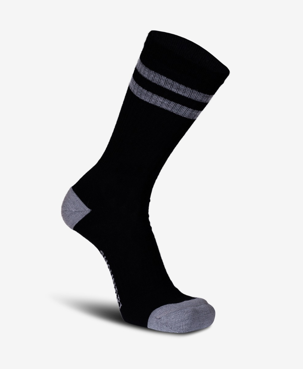 Swanndri Colombo Merino Blend Socks in Black