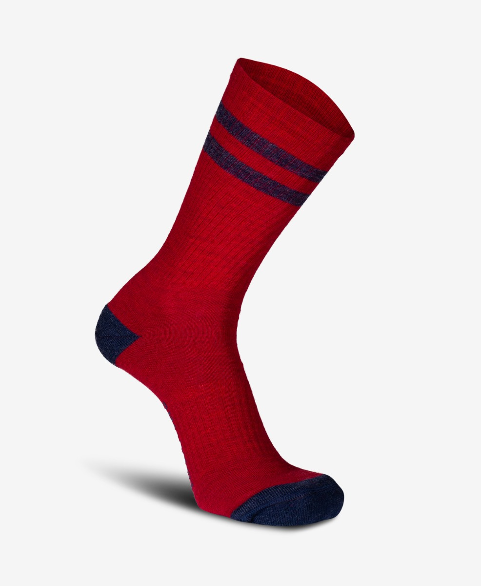 Swanndri Colombo Merino Blend Socks in Red